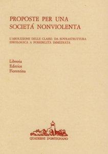 Proposte per una società nonviolenta