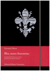 Bloc notes fiorentino