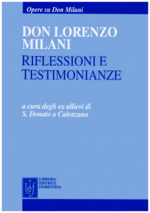 Don Lorenzo Milani riflessioni e testimonianze