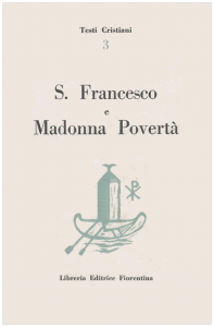 S. Francesco e Madonna Povertà