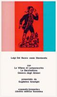 Luigi Del Buono ossia Stenterello