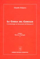 La Chiesa del Concilio